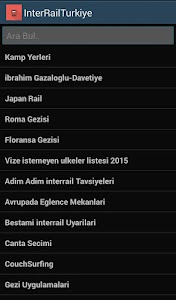 Interrail Türkiye screenshot 0