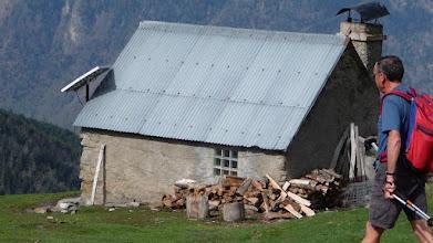Photo: Cabane du Mouscadé (fermée) de la bergère