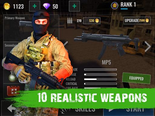 Zombie Shooter Hell 4 Survival  screenshots 12