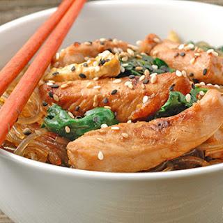 Stir-Fried Pork With Clear Noodles