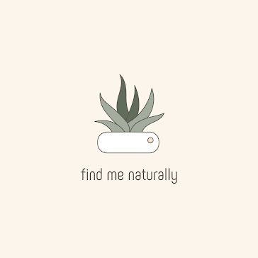 Find Me Naturally - Logo Template