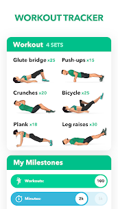 Download Home Fitness Workout by GetFit – No Equipment Premium (Unlocked) 1