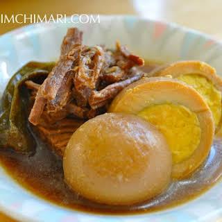 Jangjorim - Korean Beef Side Dish.