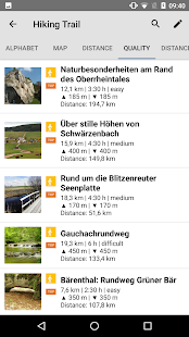 Hiking & biking in SW Germany- screenshot thumbnail