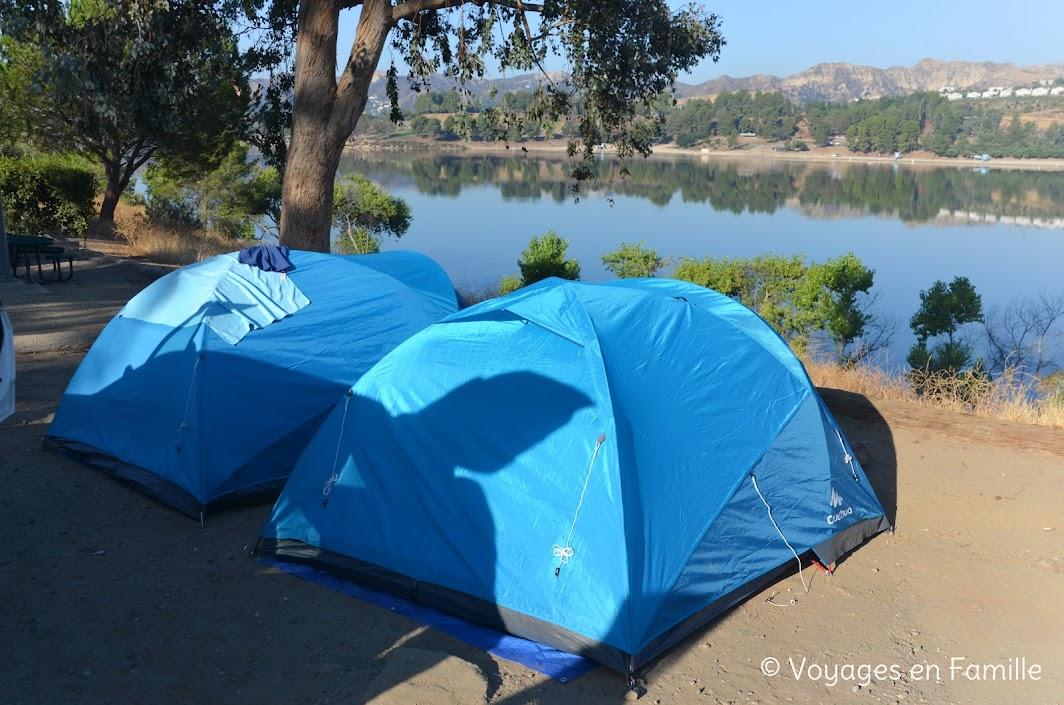 Castaic lake Campground