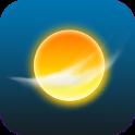 de Weerapp: gratis weervoorspelling, radar, alarm icon