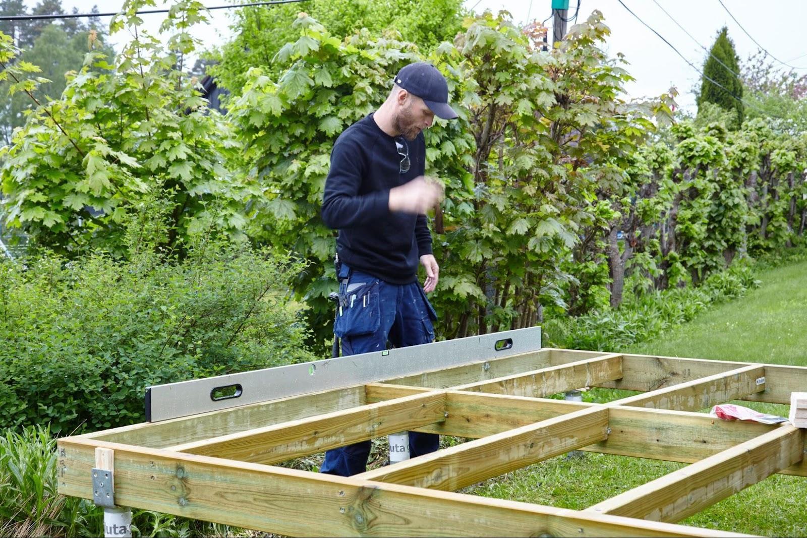 bygge terrasse