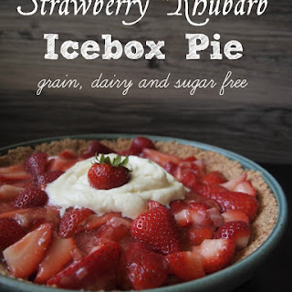 Sugar Free Rhubarb Pie Recipes.