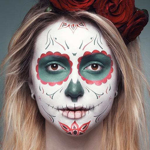 Halloween Face Makeup 攝影 App LOGO-APP開箱王
