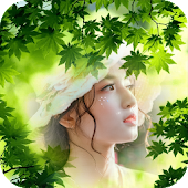 Leaf Photo Editor: Nature Pic Frames & Wallpaper Icon