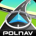 Polnav mobile Navigation icon