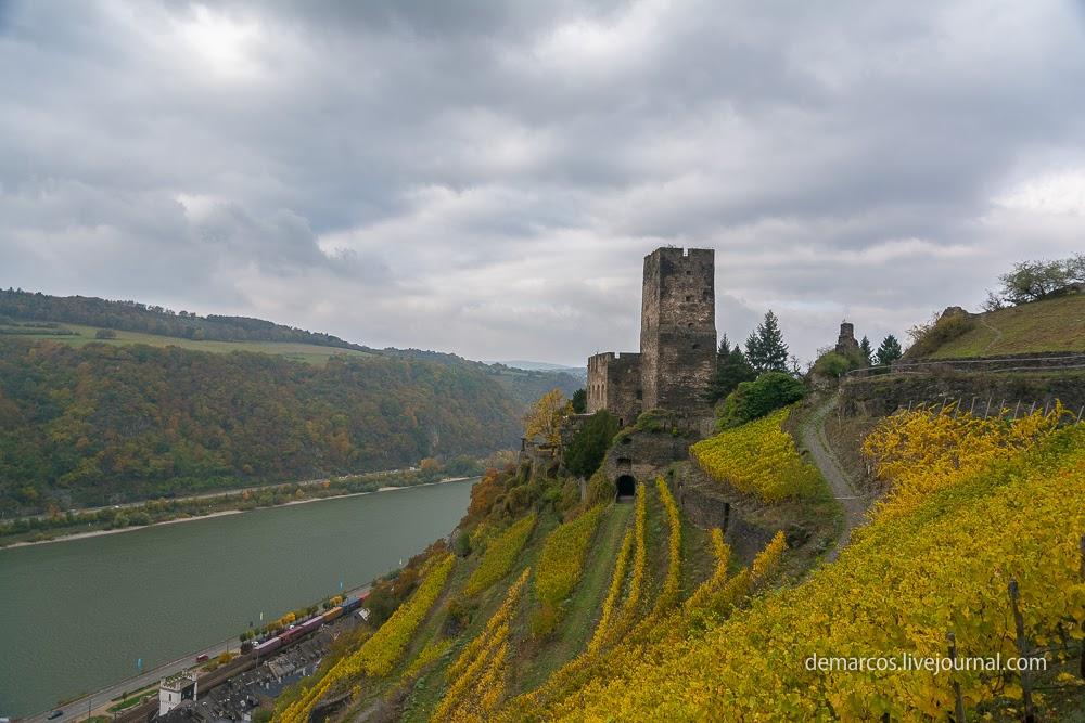 Rheinsteig_kaub_lorch_Burg_Gutenfels-1