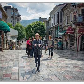 Ohrid by Dusan Arezina - People Street & Candids ( makedonija, wife, ohrid, sunny, people, colorful )