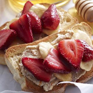 Strawberry Banana Bruschetta