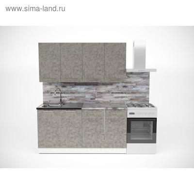 Кухонный гарнитур Валерия стандарт 2 1600 мм