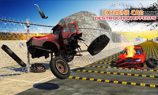 Deadly Car Crash Engine Damage: Speed Bump Race 18 screenshot 2