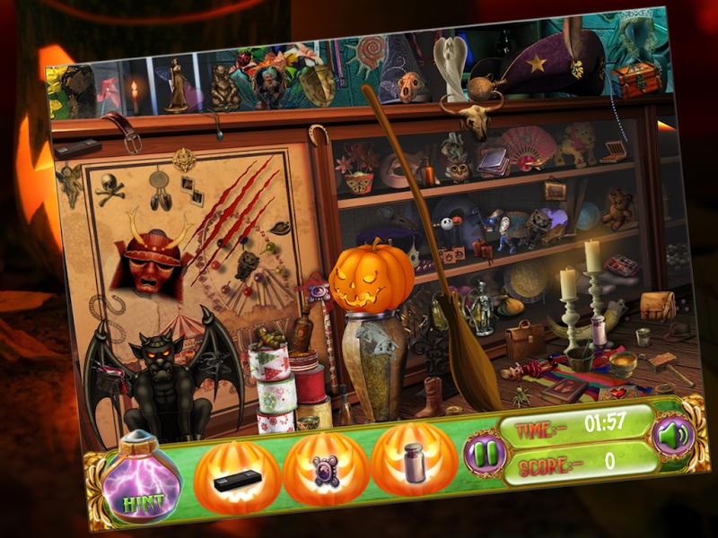 Скриншот Halloween Night Hidden Object