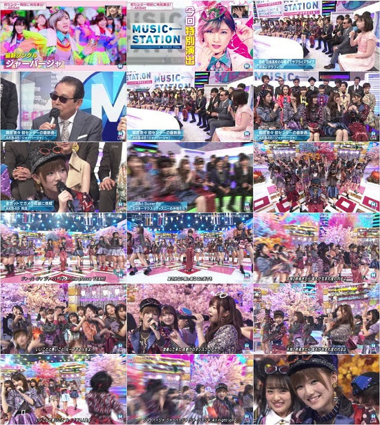(TV-Music)(720p+1080i) AKB48 – Music Station 2h SP 180323
