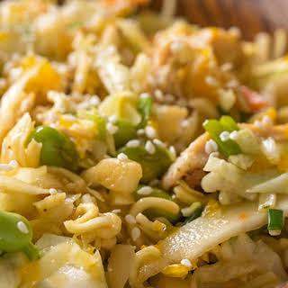 Asian Ramen Noodle Salad.
