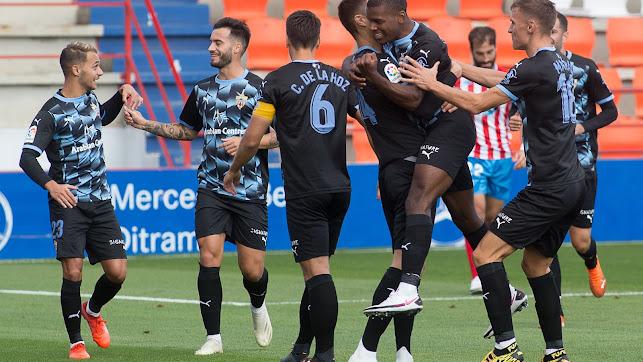 El Almería se impuso al Lugo en la primera vuelta por 0-2.
