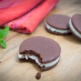 Healthy Chocolate cookie recipe (aka Oreos, Mint Slice or Tiny Teddies)