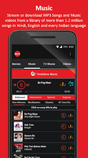 Vodafone Play TV Movies Sports- screenshot thumbnail