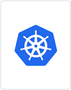 Logotipo do Kubernetes