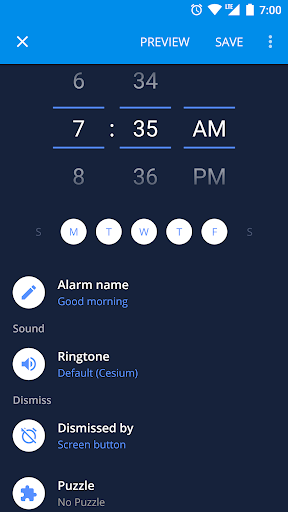 Screenshot for Alarm Clock Xtreme: Alarm, Stopwatch, Timer (Free) in United States Play Store
