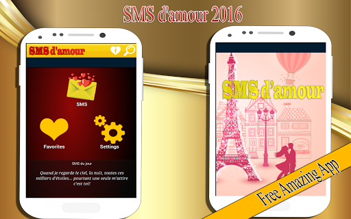 SMS d'amour 2016