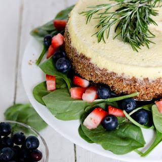 Savory Blue Cheese Cheesecake.