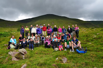 Photo: Charity Walk to Galtymore in aid of the Ian McKeever orphanage in Tanzania, July 27th, 2013. 2 of 2
