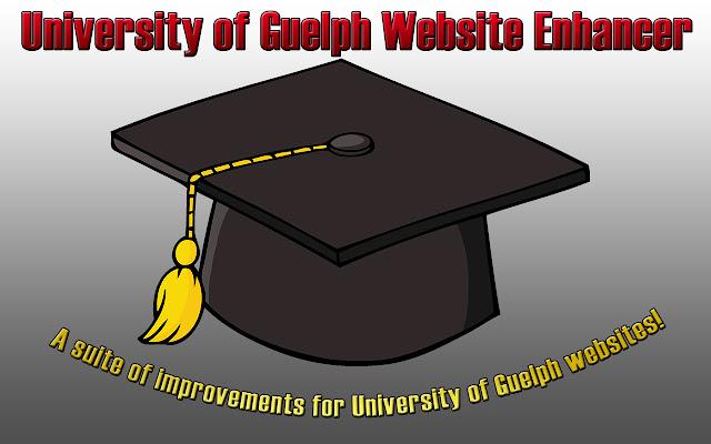 University of Guelph Website Enhancer