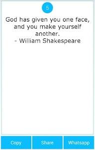 101 Great Saying by Shakespear screenshot 6