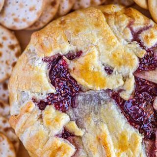 Raspberry Baked Brie.
