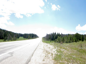 Photo: West side Rabbit Ears Pass. Next is 7 mile descent with 7% Grade Descenting.