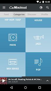 Mixcloud - Radio & DJ mixes - screenshot thumbnail