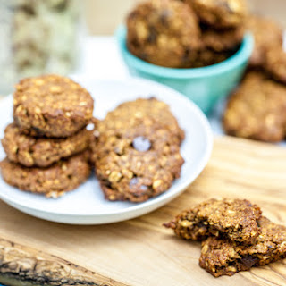 Chewy Apricot Almond Oatmeal Cookies.