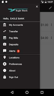Eagle Bank MN Mobile Banking - náhled