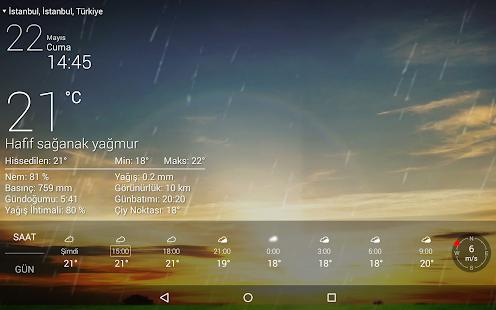 Canli Hava Durumu Ücretsi̇z Ekran Görüntüsü