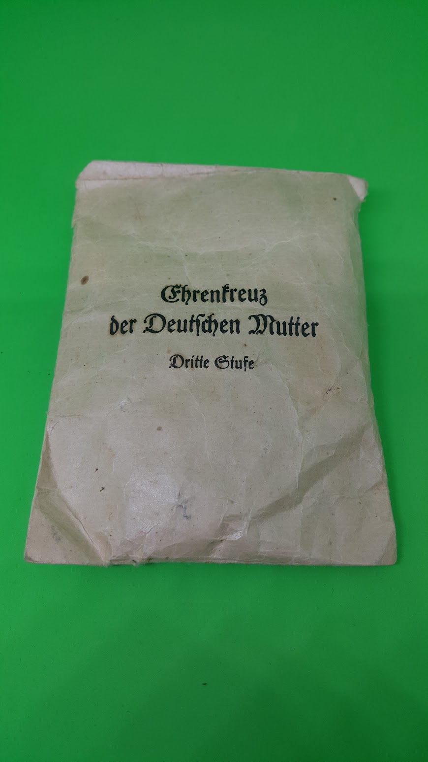 Ehrenkreuz der deutschen Mutter - Dritte Stufe