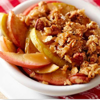 Caramel Crunch Apple Crisp