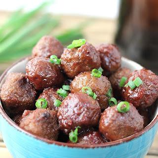 3 Ingredient Crockpot Meatballs