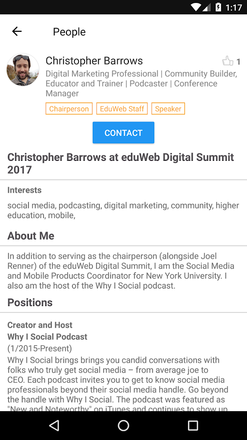 eduWeb Digital Summit 2017- screenshot