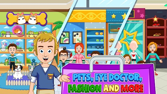 My Town : Shopping Mall Free (Unlimited Money) 4