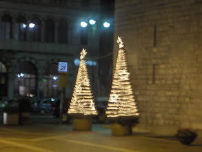 Photo: Christmas lights- Como, December 2007