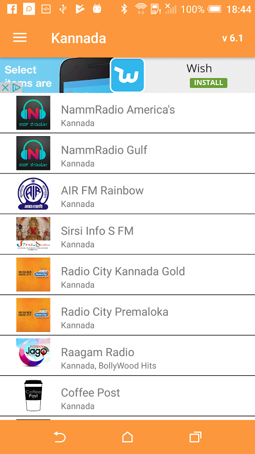 Indian Desi RADIO Music- screenshot