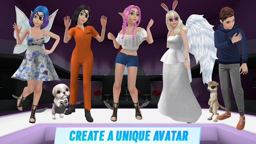 Virtual Sim Story screenshot 5
