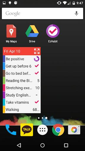 【免費生產應用App】EzHabit - Habit & Goal Tracker-APP點子