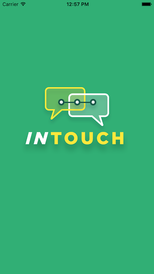 InTouch Beta- screenshot