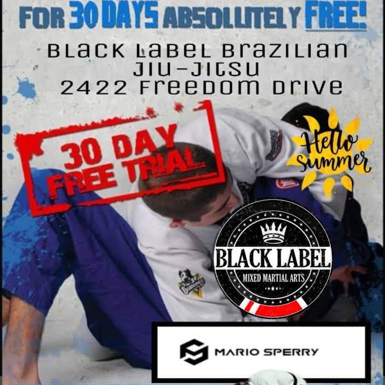 Black Label Brazilian Jiu Jitsu Academy Mixed Martial Arts